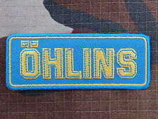 ECUSSON PATCH THERMOCOLLANT aufnaher toppa OHLINS automobile moto quad sport
