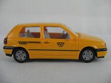 "Wiking 04904 VW Golf III GL (1991) ""EMS (A)"" in chromgelb 1:87/H0 guter Zustand"