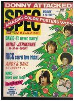 Spec Magazine February 1973 David Cassidy Donny Osmond Michael Jackson