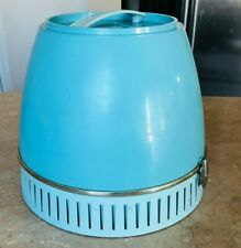Vtg Lady Schick Deluxe Capri Consolette Hard Bonnet Hair Dryer Blue model 315