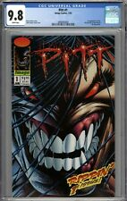 Pitt #1 CGC 9.8 NM/MT 1st Appearance of Pitt WHITE PAGES