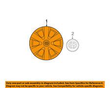 TOYOTA OEM 07-09 Camry Wheels-Wheel Cover 4260206020