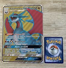 Salamence GX SM139 - Black Star Promo Pokemon Card JUMBO OVERSIZED