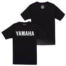 Yamaha's 129 Classic S/S T-Shirt in Black - Size X-Large - Genuine Yamaha - New