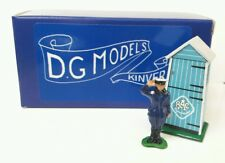 OO 1/76 4mm 1930s - 1940s RAC BOX & PATROL MAN METAL & CARD MODEL HAND MADE UK