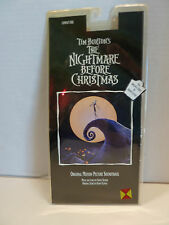 The Nightmare Before Christmas by Danny Elfman CD and Cassette