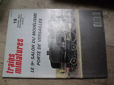 $$ Revue Trains Miniatures N°18 CC 40101 40110  Bâtiments Massif Central