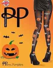 Pretty Polly Calabaza MEDIAS Halloween Murciélagos Disfraz Truco Trato