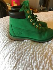 Brand New Youth Timberland Green Size 7 7Y A11QB Must See