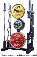 Power Maxx Olympic Plate Barbell Stand CGOLYPLBB // Weights Storage Tree Rack