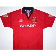 maglia ufficiale manchester united - M. Hughes