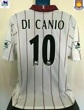 West Ham United, Italy DI CANIO 02/03 Away Football Shirt (L) Soccer Jersey