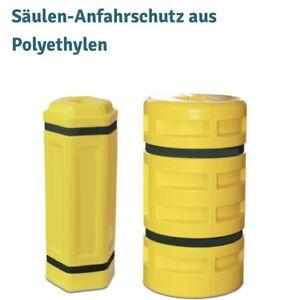 Säulen-Anfahrschutz aus Polyethylen, Säulenmaß 100 x 100 mm