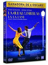 LA CIUDAD DE LAS ESTRELLAS LA LA LAND DVD NUEVO ( SIN ABRIR )