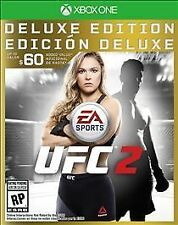 EA Sports UFC 2 -- Deluxe Edition (Microsoft Xbox One, 2016)
