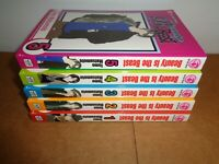 Beauty Is the Beast vol. 1-5 Manga Graphic Novel Book Complete Lot English Shojo