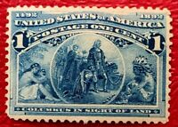 1893 US Stamps SC#230 Columbian Expo Issues Well Centered
