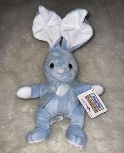 "Animal Alley Blue Bunny Rabbit Plush Stuffed Animal 12"" Toys R Us"
