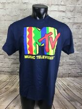 NEW MTV TSHIRT SHIRT MUSIC TELEVISION 71868 Size Small