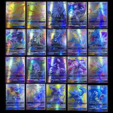 200Pcs Pokemon carte 195 GX + 5 MEGA Toutes Holo Flash Art Trading Cards Cadeau