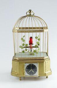 Spieluhr Singvogelautomat Karl Griesbaum mit Uhr Dif17384 AVS17572 HD1