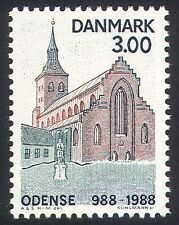 Denmark 1988 Odense/Church/Buildings/Architecture/Heritage/History 1v (n41003)