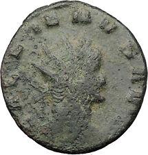 GALLIENUS son of Valerian I Ancient  Roman Coin Pegasus winged horse  i31717
