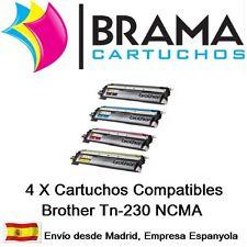 4 XToner Compatible para Brother HL 3040CN 3070CW DCP TN230 TN 230 TN230 Tn210