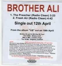 (BQ954) Brother Ali, The Preacher - DJ CD