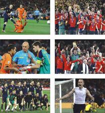 Spain 2010 World Cup Winners New POSTCARD Set