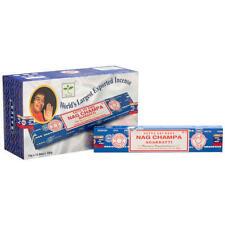 Nagchapa Satya Encens Arôme Parfumé Habitation Arôme Inde 1er 3er 6er 12er