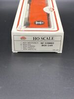 Model Power HO Scale Illinois Central Gulf ICG Rd#59274 50' Combo Box Car