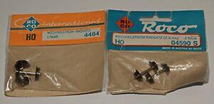Roco H0   4464/04590 S   zwei x 1 Paar   Wechselstrom Radsätze in OVP