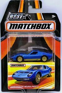 Matchbox Best of Matchbox Lamborghini Miura P400 S MINT! FREE Shipping!