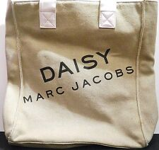 Marc Jacobs Daisy Purse Tote Overnight Weekender Bag White Leather Handles