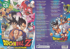ANIME DVD DRAGON BALL Z 18 Movie in 1 Movie Collection All Region + FREE ANIME