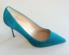 JCrew Elsie Suede Pumps Womens Shoes Sz 11 Vivid Jade Green NEW $245 Italy A4969