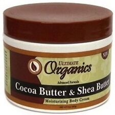 Ultimate Organics Cocoa Butter&Shea Butter/Olive Skin Care Products
