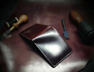 Handmade Horween Cordovan Bifold Wallet