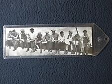 (2x8) Charles C Ebbets Lunchtime Atop a Skyscraper NYC Bookmark
