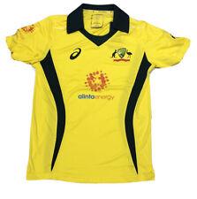 ASICS Mens Cricket Australia 2018 Jersey Home Shirt Medium