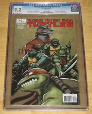 Teenage Mutant Ninja Turtles #2A (9/2011, IDW) Eastman Waltz 1st Print CGC 9.2