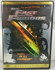 The Fast and the Furious (DVD, 2002)