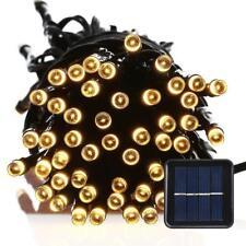 200 LED Solar Power Fairy String Xmas Tree Party Porch Lights Garden Waterproof