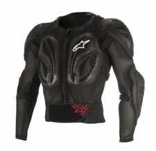 ALPINESTARS YOUTH BIONIC ACTION JACKET BLACK RED TG L/XL