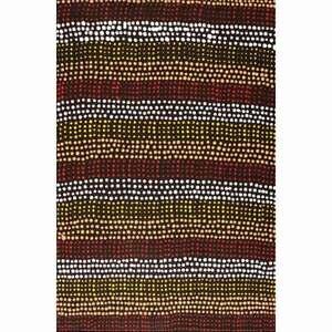 Aboriginal Art - Vaughan Springs Dreaming 46cm x 30cm