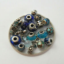 CHOICE of Pre-Owned PANDORA S/Silver SHADES OF BLUE Charms