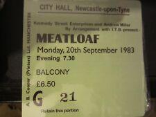 Meatloaf Concert Coasters September 1983 ticket High quality mdf Coaster