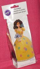Doll Pick,Teen,Cake Decoration,Plastic,Wilton,Brunette,2811-101,Caucasion,Beige