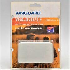 Vanguard VGA-0202CF - Container für 4 Flash Cards